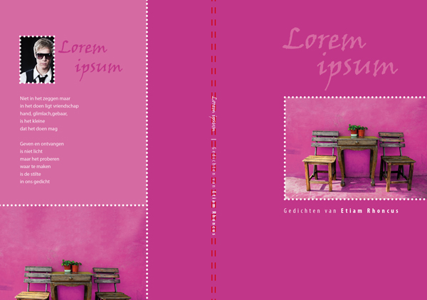 design cover sacha's poetry