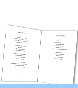 design book Sacha's Poetry