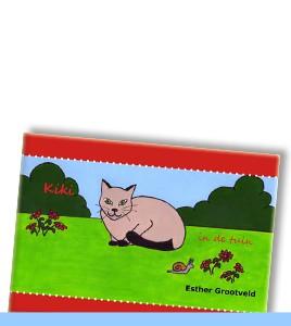 ESTHER GROOTVELD | Kiki in de tuin